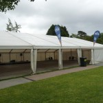 Huge marquee next to bar 2017